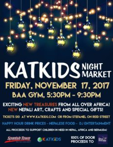 katkids night market poster
